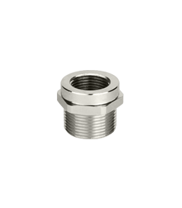 Atex Nickel Plated Adapter Reducer Ex d/e IP66 - IP68 · Glakor