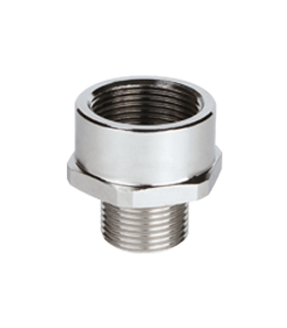 Atex Stainless Steel Enlarger Ex d/e Metric Thread IP66 - IP68 · Glakor