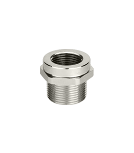 Nickel Plated Reduced NPT Thread Ex d/e IP66 - IP68 · Glakor