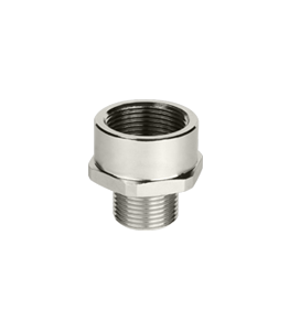 Atex Nickel Plated Enlarger Ex d/e NPT Thread IP66 - IP68 · Glakor