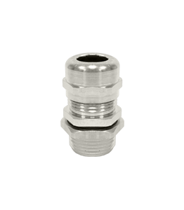 NPT Nickel Plated Cable Glands Atex Unarmoured Ex e IP68 · Glakor