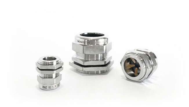 Metric EMC Nickel Plated Cable Glands IP68 · Glakor