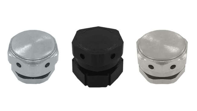 Nickel Plated Ventilation Plugs IP68 · Glakor