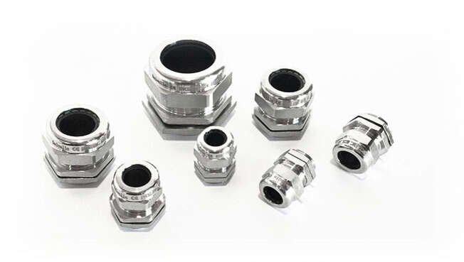 Metric Stainless Steel Cable Glands AISI 316L · Glakor