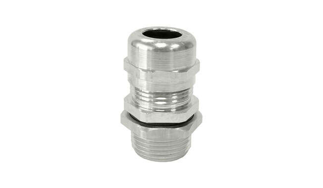 Metric Nickel Plated Cable Glands Atex Unarmoured Ex e IP68 · Glakor