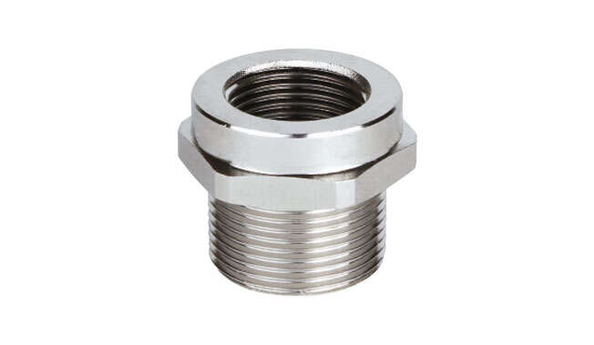 Nickel Plated Reduced Metric Thread Ex d/e IP66 - IP68 · Glakor