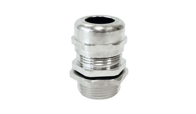 Metric Stainless Steel Cable Glands Atex Unarmoured Ex d IP68 · Glakor