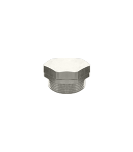 Atex Plug Ex d/e Nickel-Plated Blind Metric Thread IP68 · Glakor
